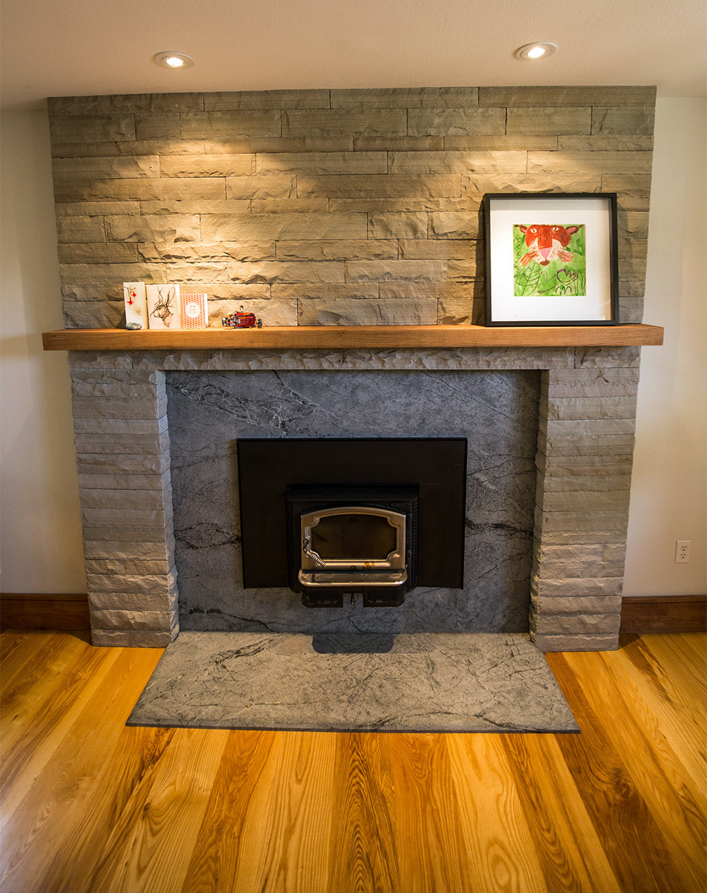 Beautiful hearth by Z Stone, Eldorado, CO