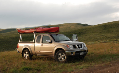 Our trusty pick up truck loves a good road trip.
