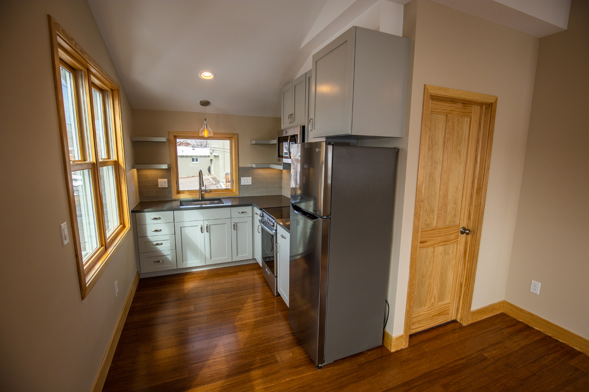Kitchen view ADU