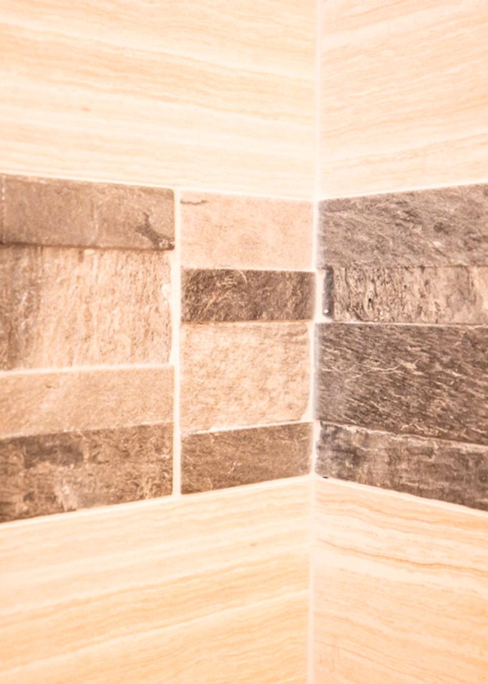 Tile closeup detail